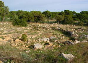 Prehistoric remains on Formentera